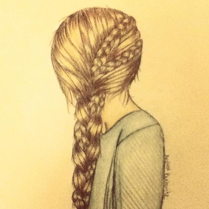 Braided Hair by XxHawkfirexX