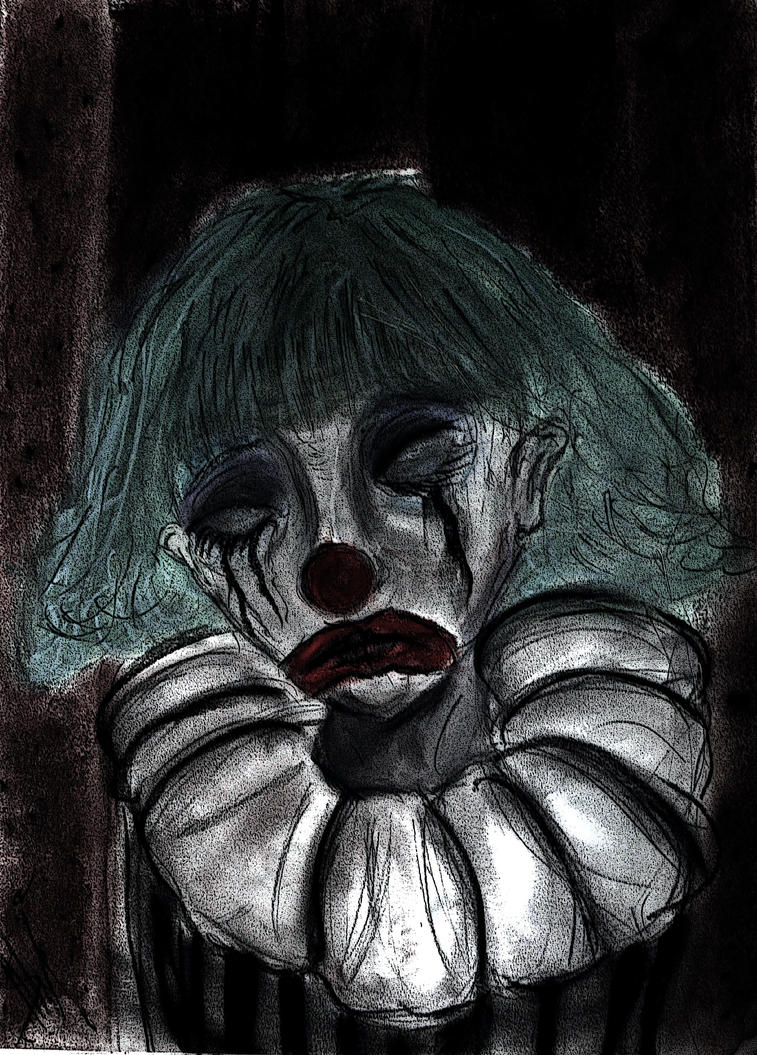 The Tragic Clown by salvi-burton