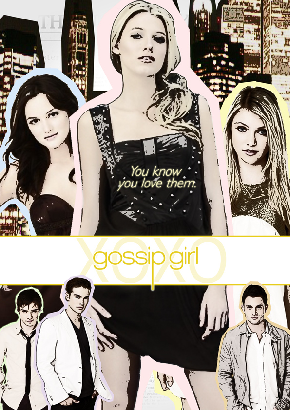 Gossip Girl by PepperPeck