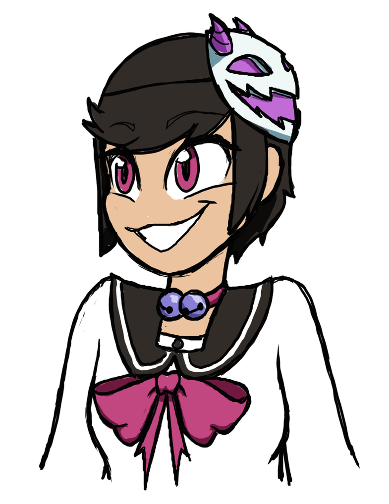Quickie #2 - Maya-chan by HowlinnWolf