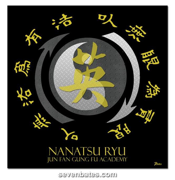 Nanatsu Ryu Jeet Kune Do Logo By Nanatsu On Deviantart