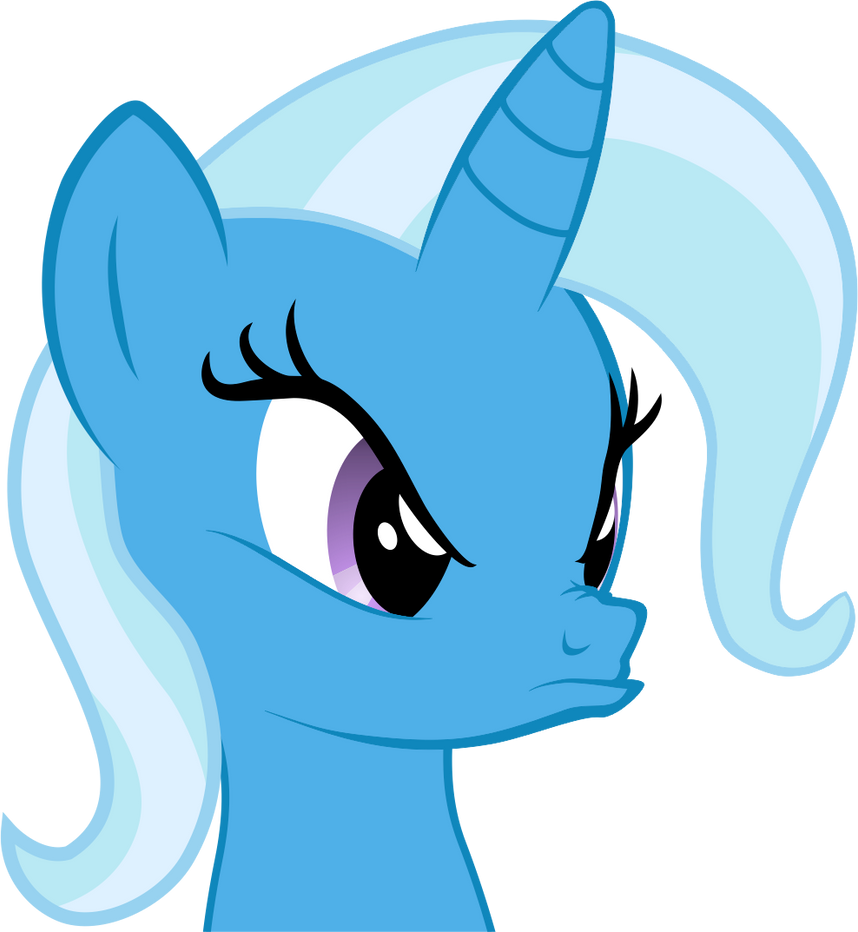 Rainbow Dash Wallpaper Angry Trixie icon by K...