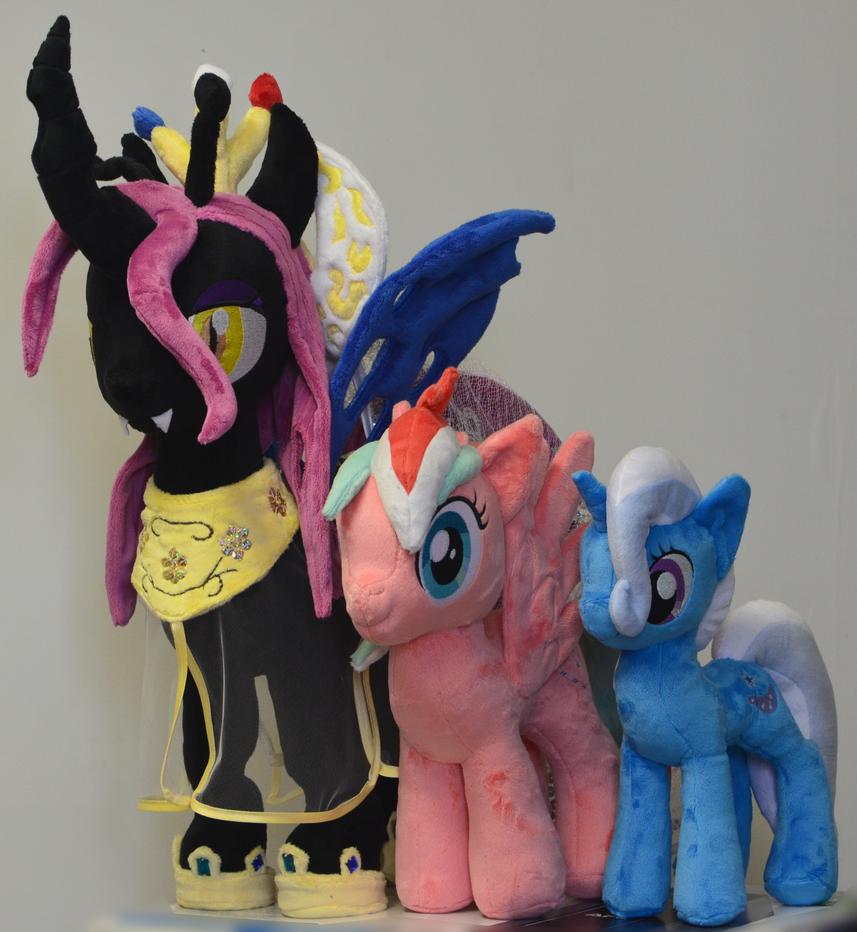 Pony Plush Commissions by Kyoshyu