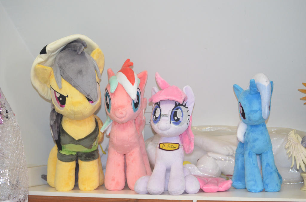 Pony (only) Plush Commissions (Updated) by Kyoshyu
