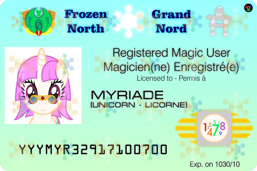 Frozen North ID - Myriade by Kyoshyu