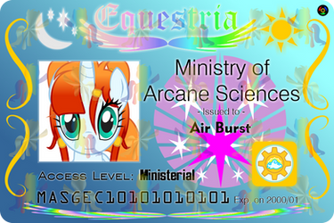 Equestrian ID - Air Burst