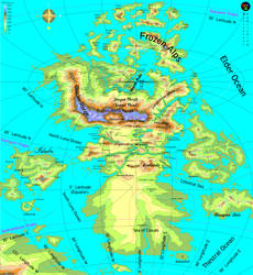 Topographic Map of The Cutie Map 02 + North Pole