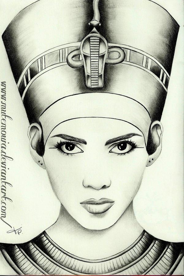 Queen Nefertiti by Mutemouia on DeviantArt