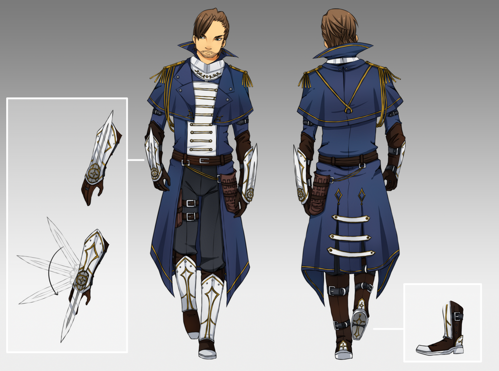 Anime Fantasy Outfits Male