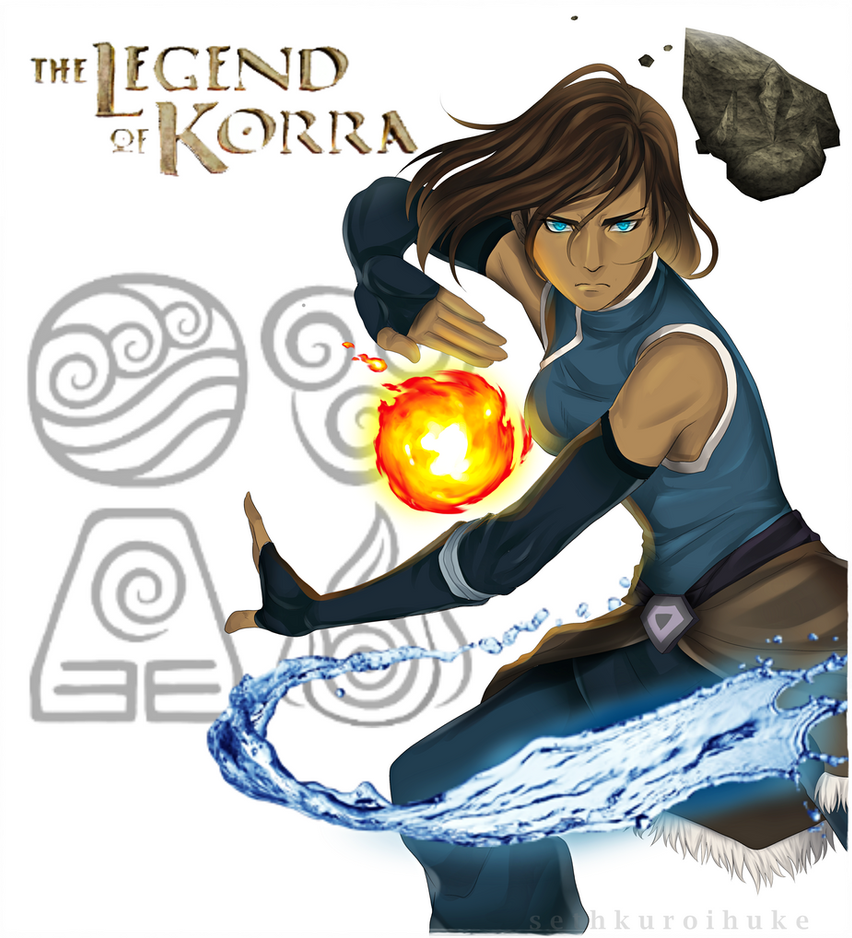 AVATAR: Legend of Korra by SethKuroiHuke