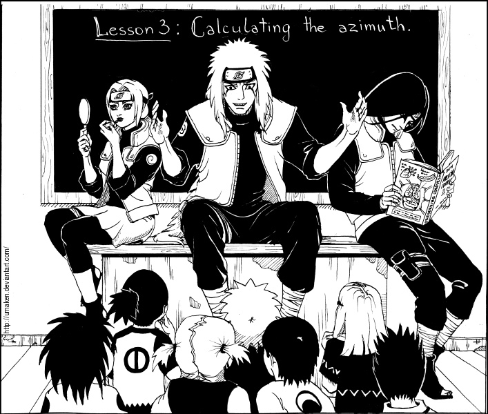 The Sannin are back to academy by Umaken