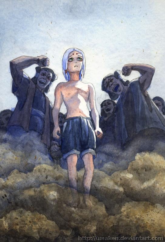 The Champion of the Kaguya clan by Umaken