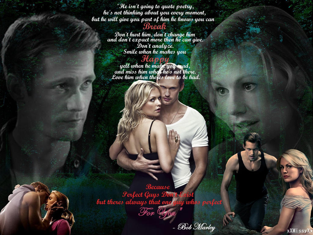 True Blood Eric And Sookie Perfect Guys Dont Exist By