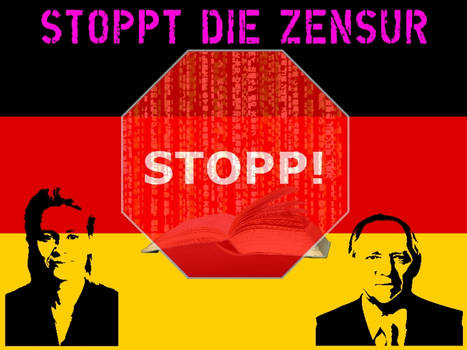 Stoppt die Zensur