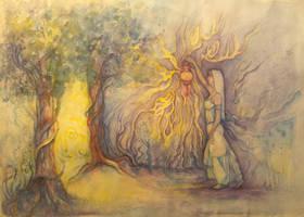 Finding the secret light by MoonFey