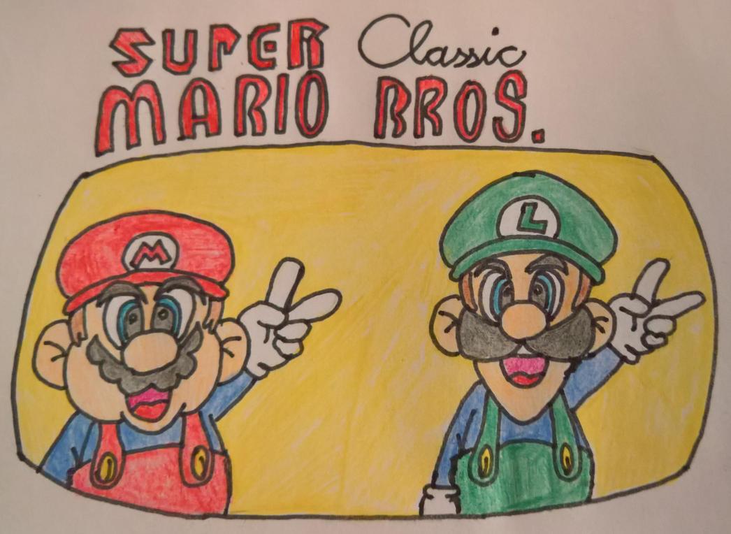 Super Classic Mario Bros. by happydreamer96