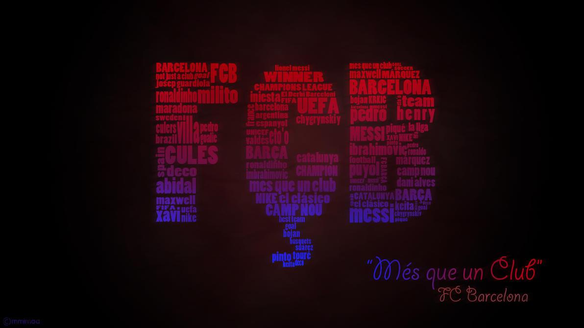 FC Barcelona Wallpaper by mmimaa on DeviantArt