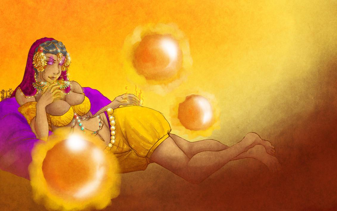 LoL :: Indian Princess? Syndra by sonyaism