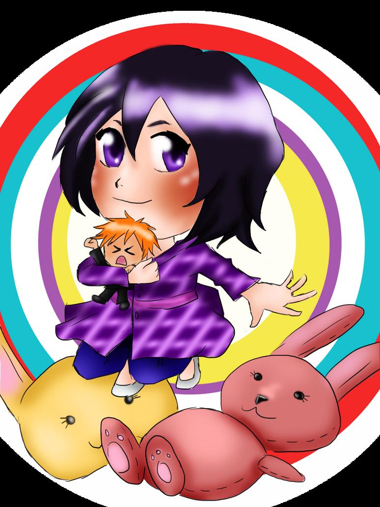 Rukia's Chappy Birthday by hermione2411