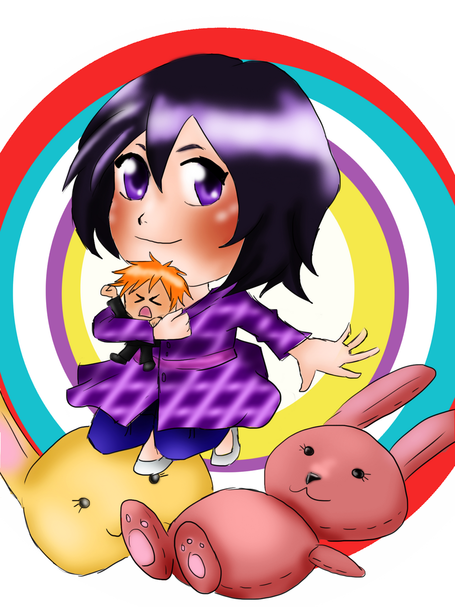 Rukia's Chappy Birthday by hermione2411