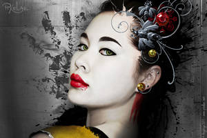 Paint Geisha