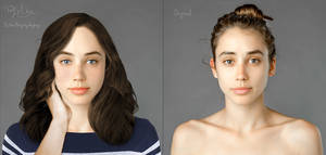 Before and After - Inspired by Esther Honig