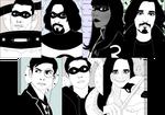 Day 21 - 27 - Umbrella Academy(+comic ver)