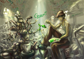 Green Earth 2010 by ioxygen