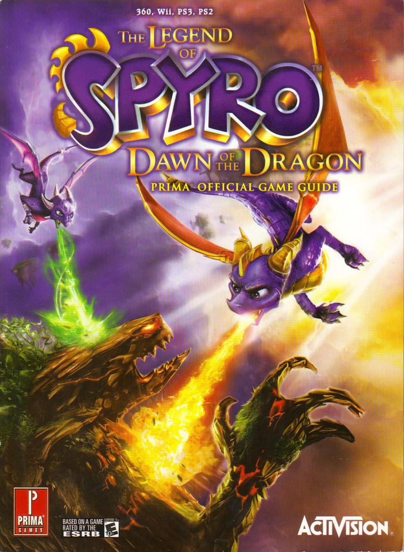 how to draw spyro from dawn of the dragon