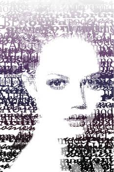 typographic portrait II