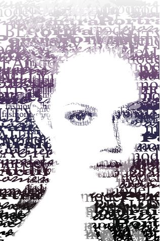typographic portrait II by Blinkt