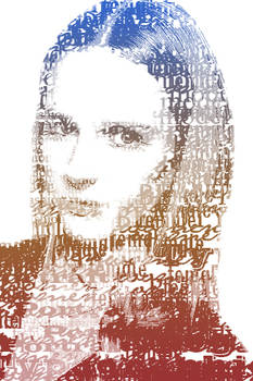typographic portrait III