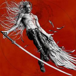 Inktober day 29 (Sephiroth/ Final Fantasy 7)