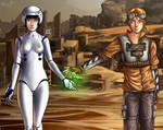Wall-E + Eve: Regeneration by Acaciathorn