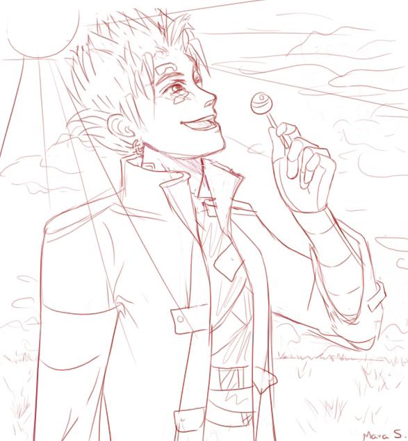 Heaven         has Lollipops by Mara S.