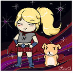 Special Girl and Humphrey by Acaciathorn