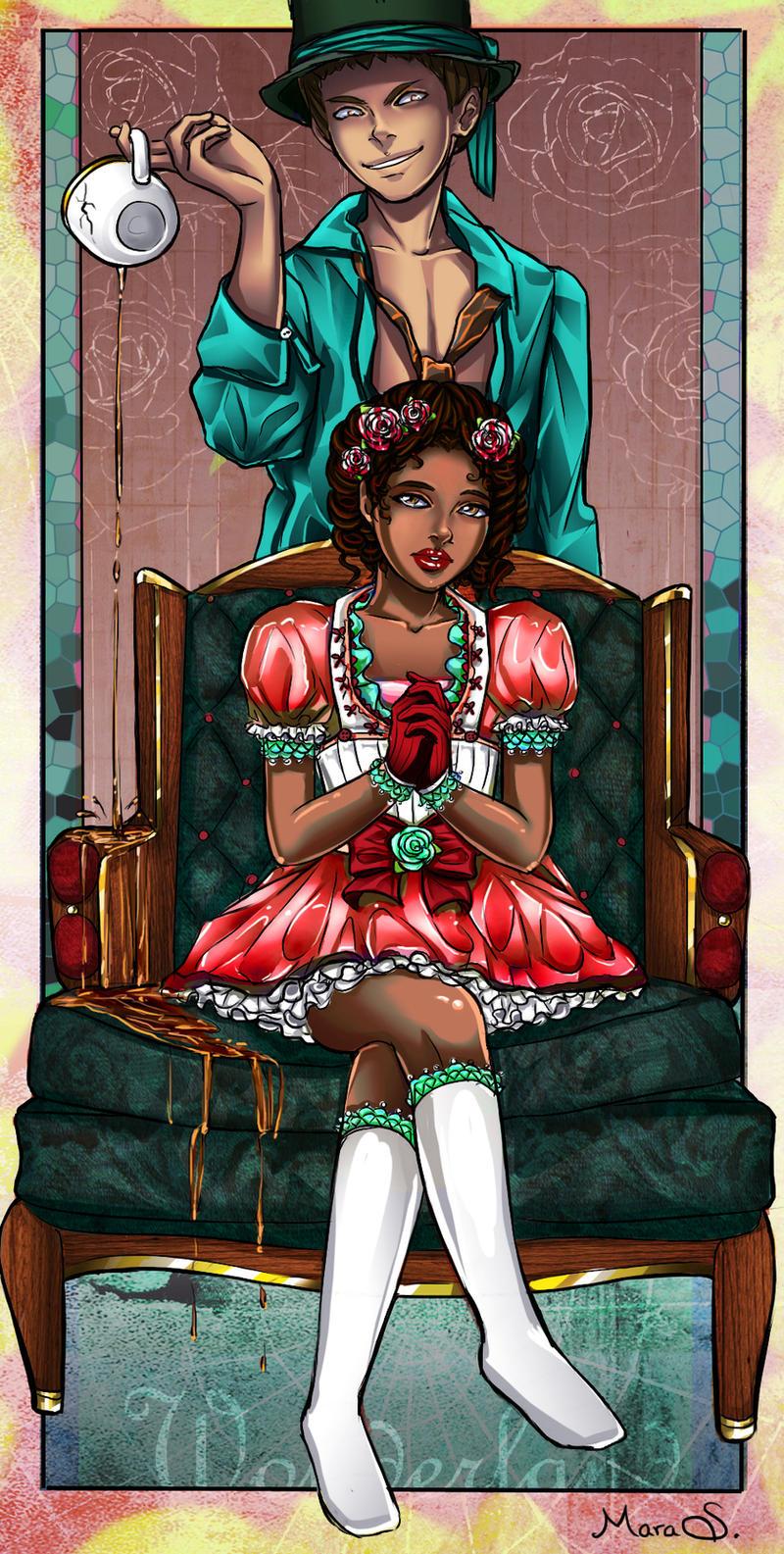 Libby in Wonderland by Acaciathorn