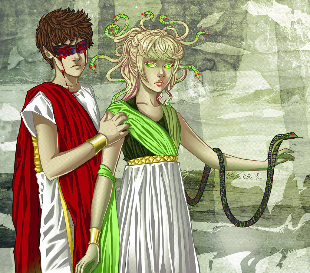 Medusa Retold by Acaciathorn