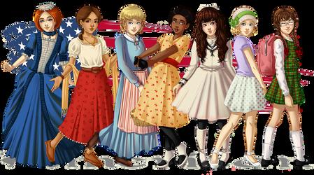 American Girls: 1774-1944