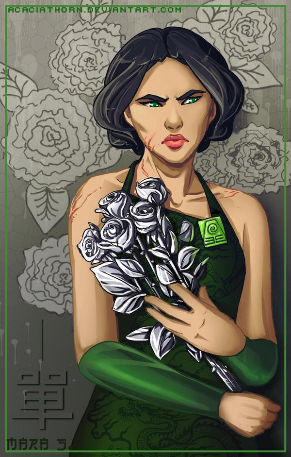 Metal Roses Never Die by Acaciathorn