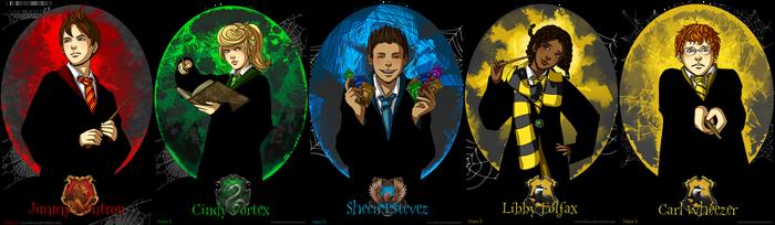 Jimmy Neutron at Hogwarts by Acaciathorn