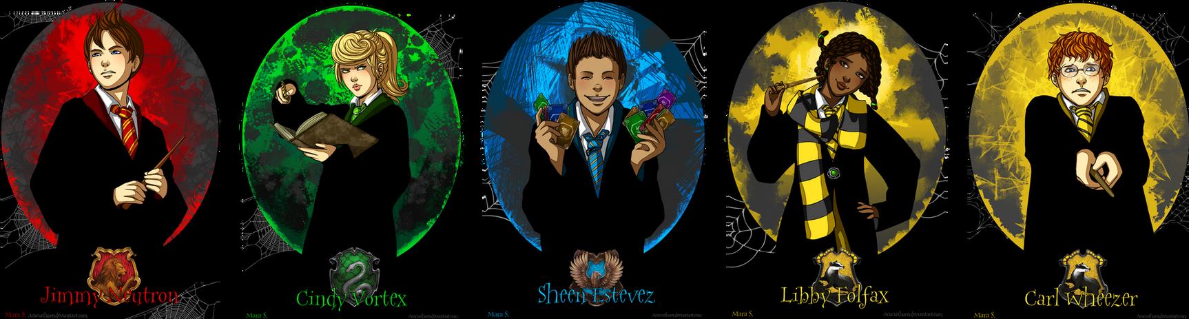 Jimmy Neutron at Hogwarts