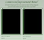 Commission Improvement Meme