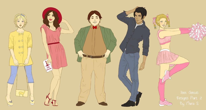 Jimmy Neutron: Teen Genius Designs Part 2 by Acaciathorn