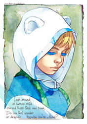 Finn the Human by Acaciathorn