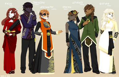 Commission: Traditional Bothan Fashion by Acaciathorn