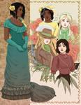 Retro Valley Women by Acaciathorn