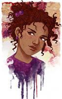 Roxanne Weasley by Acaciathorn