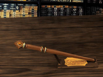 Isadora's wand by Acaciathorn