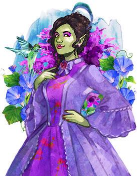 Commission: Lady Jade Breaudeux
